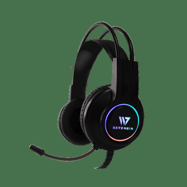 Audífonos Gamer SEVENWIN CROW SENSE BLACK