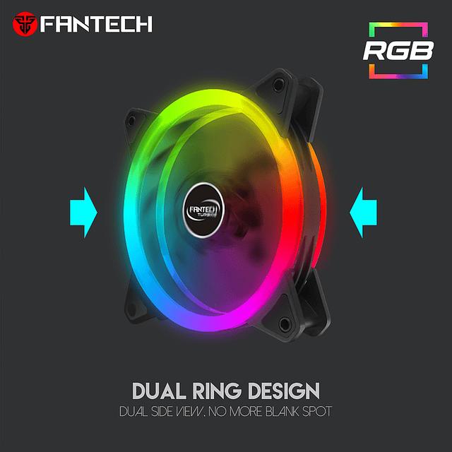 Ventilador RGB FANTECH TURBINE FC124