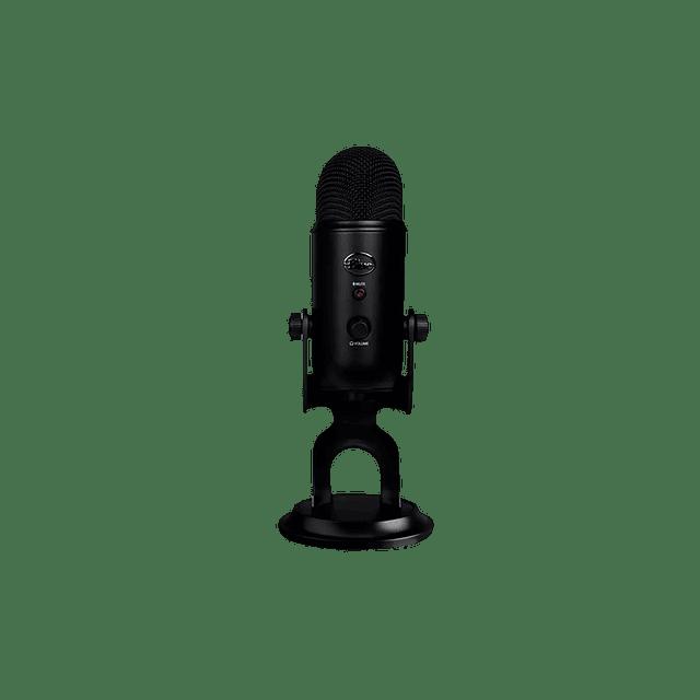 Microfono BLUE YETI BLACKOUT BLACK