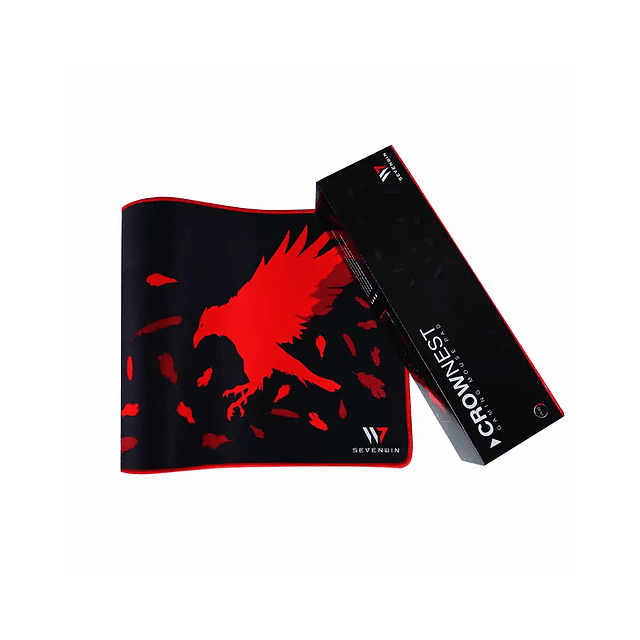 Mousepad SEVEN WIN CROW NEST RED