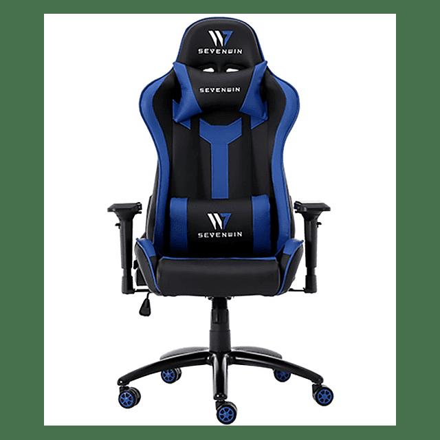 Silla Gamer SEVENWIN CONQUEST BLUE