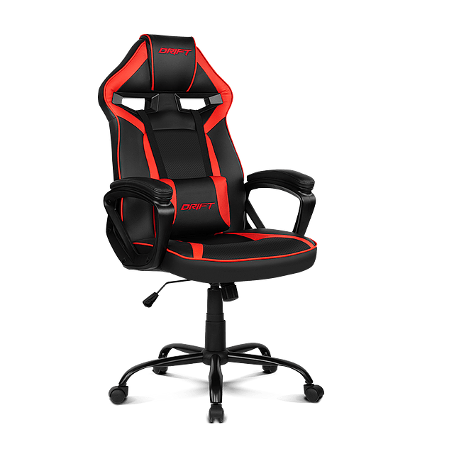 Silla Gamer DR 50 BLACK/RED