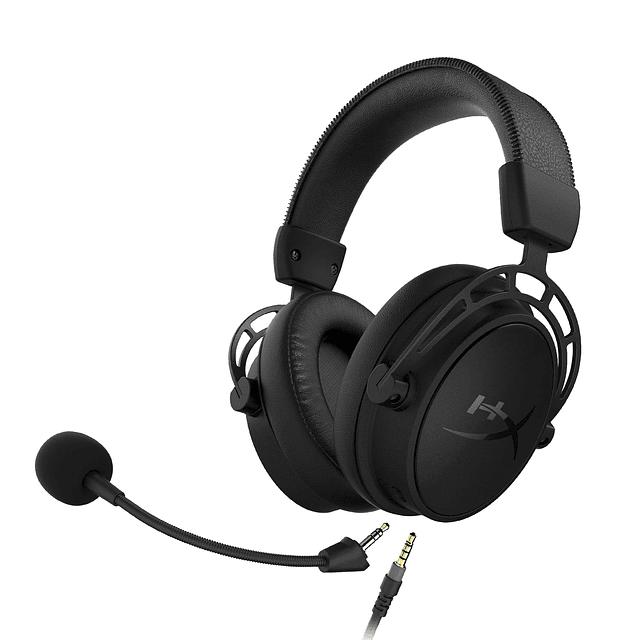 Audífonos Gamer HYPERX CLOUD ALPHA S - BLACK