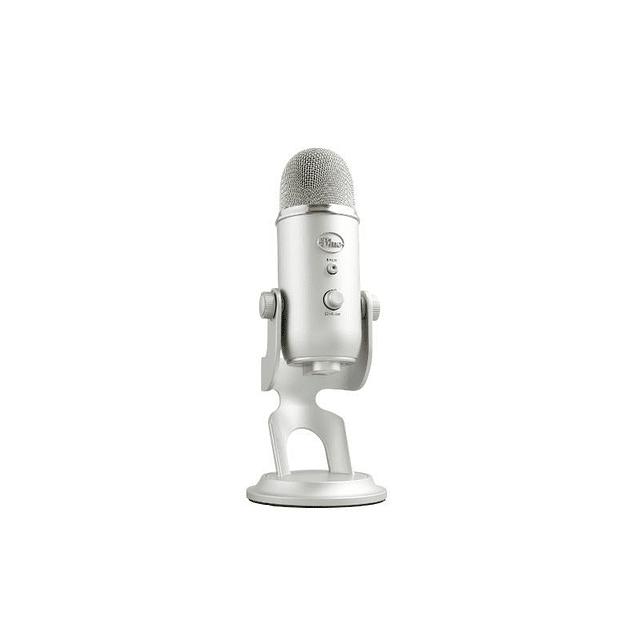 Microfono Gamer BLUE YETI SILVER
