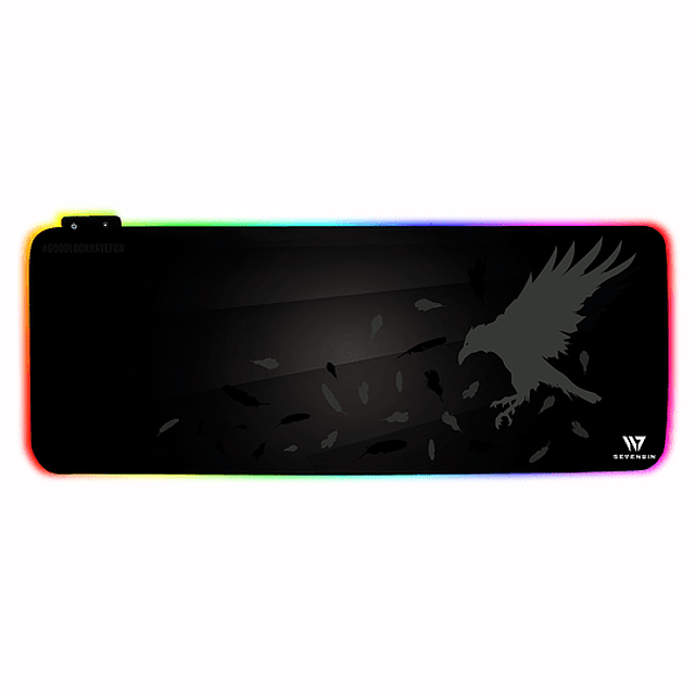 Mousepad Gamer CROW NEST RGB v2.0