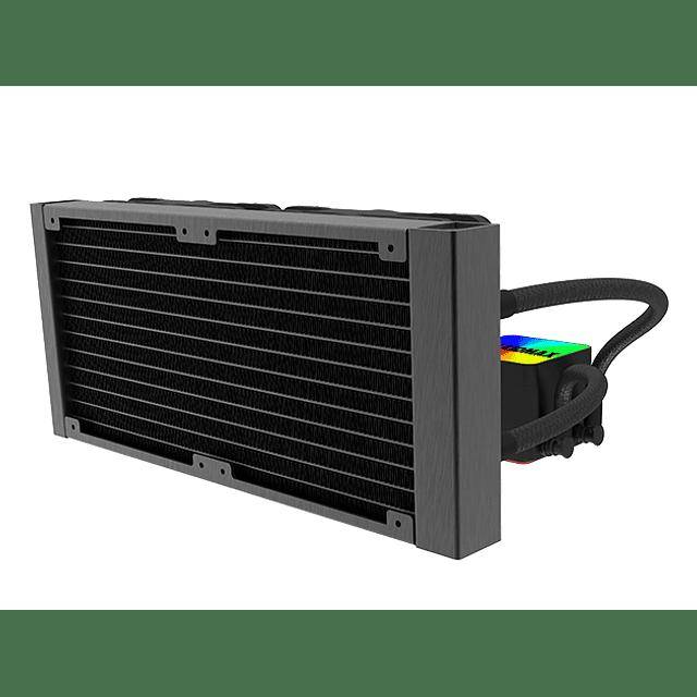 Refrigeración Liquida RAIDMAX 2 FAN TORNADO LC 240