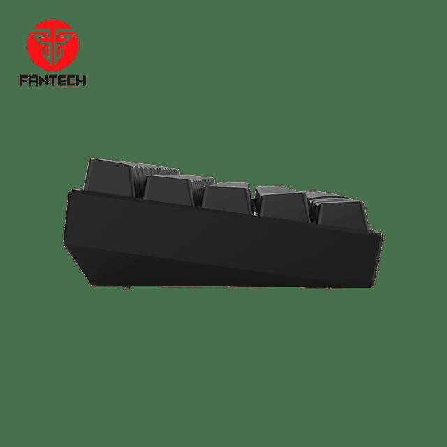 Teclado gamer 60% FANTECH MAXFIT61 MK857 BLACK EDITION SW RED