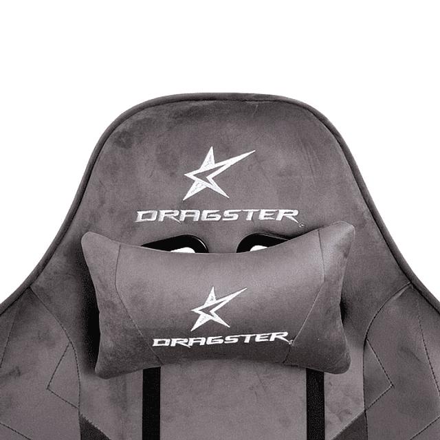 Silla Gamer DRAGSTER GT500 Alcantara Series Ashes Gray
