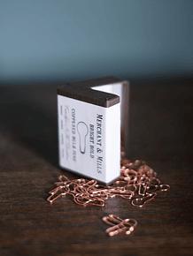 Merchant & Mills Coppered Bulb Pins   Alfinetes de Cobre