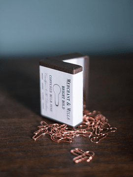 Merchant & Mills Coppered Bulb Pins | Alfinetes de Cobre