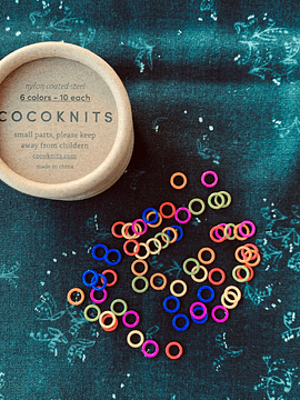 CocoKnits Stitch Markers | Marcadores para Tricot