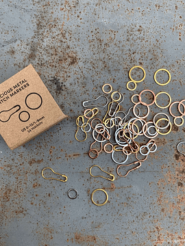 CocoKnits Precious Metal Stitch Markers | marcadores