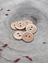 Atelier Brunette Glitter Buttons - Powder