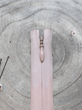 Atelier Brunette Pink Invisible Zipper