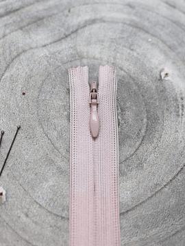 Atelier Brunette Pink Invisible Zipper