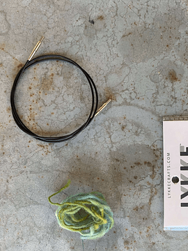 Lykke  Interchangeable Cords   Lykke Cabos para Agulhas Intercambiáveis