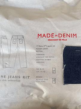 Conjunto Jeans Heroine de Merchant & Mills