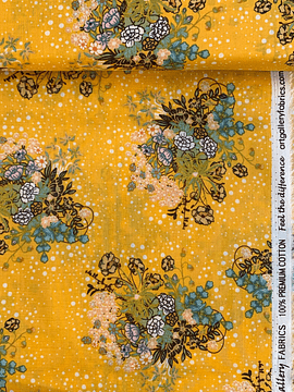 Art Gallery Fabrics Praliné Honey