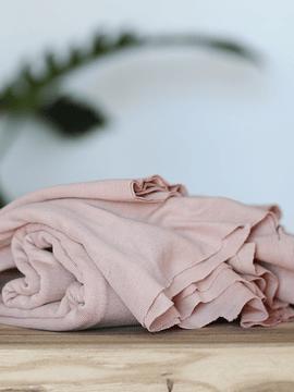 Meet Milk Powder Pink Fine Rib Jersey