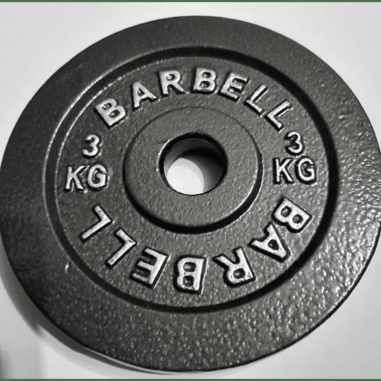 Disco Barbell 3k pre-olímpico - Image 3