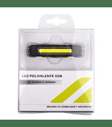 LUZ TRASERA/DELANTERA ALTITUDE USB EBL-035RB NEGRO