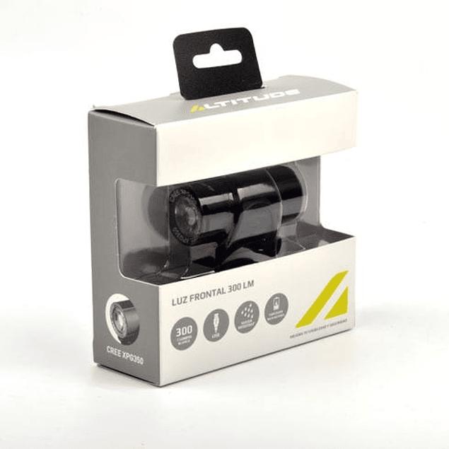 LUZ FRONTAL LED USB 300 LÚMENES EBL-3289 ALTITUDE BLANCA