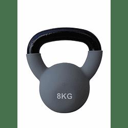 Mancuerna Rusa / Kettlebell  8 kilos metal