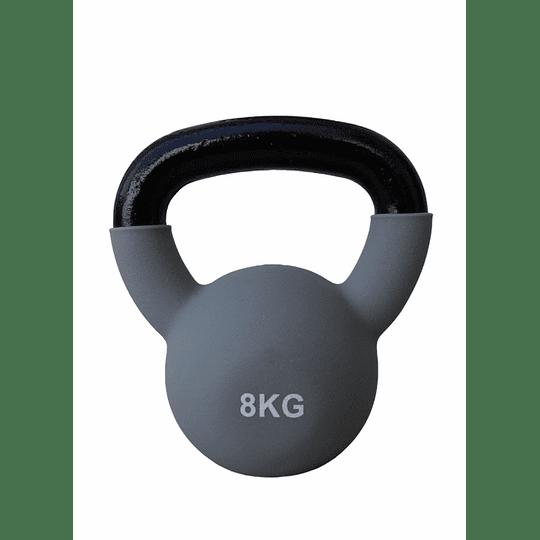 Mancuerna Rusa / Kettlebell  8 kilos metal  - Image 2