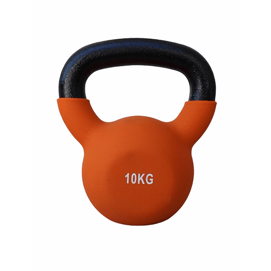 Mancuerna Rusa / Kettlebell 10 kilos metal - Image 2