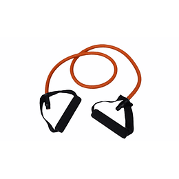 BANDA (TUBE) DE RESISTENCIA 40-45 LB  FUERTE, NARANJO