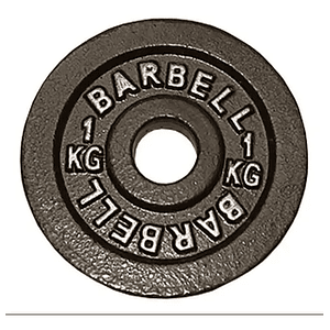 Disco Barbell 1K pre-olímpico