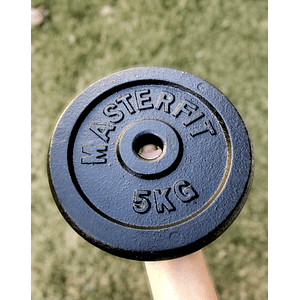Disco Masterfit 5k pre-olímpico