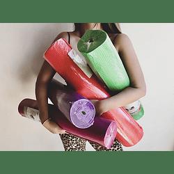 Mat de yoga 6 mm + porta mat