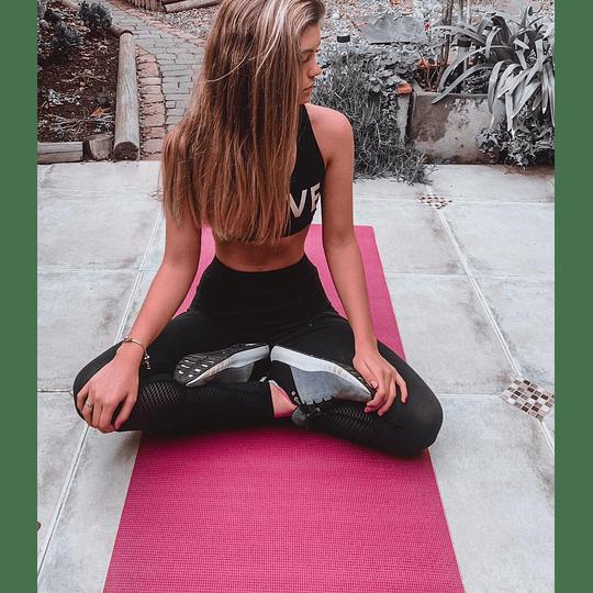 Mat de yoga 6 mm + porta mat - Image 3