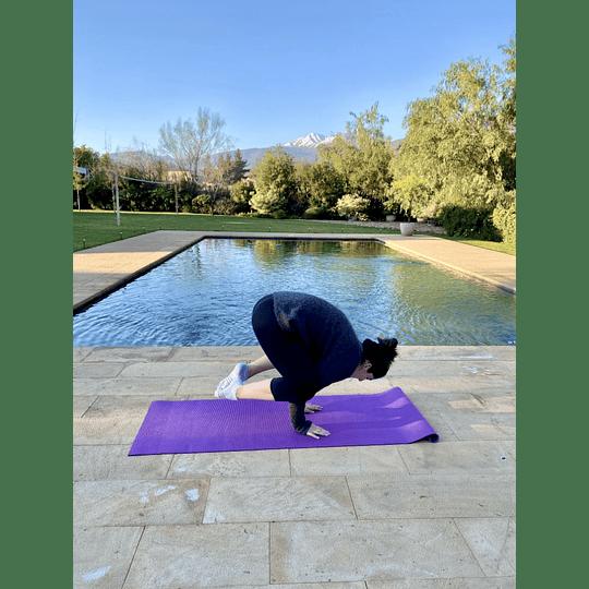 Mat de yoga 6 mm + porta mat - Image 4