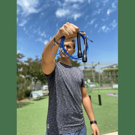 Cuerda de salto crossfit de acero - Image 1