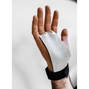 Callera protector de palma cuero