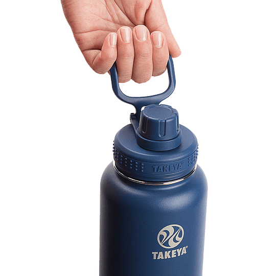 Botella TAKEYA 530ml Antigoteo MIDNIGHT - Image 2