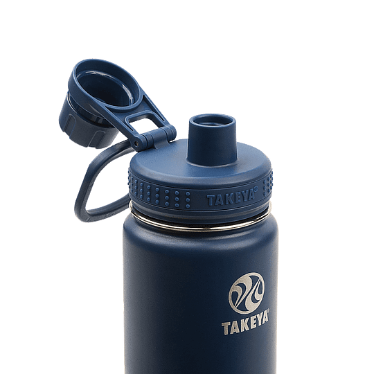 Botella TAKEYA 530ml Antigoteo MIDNIGHT - Image 3