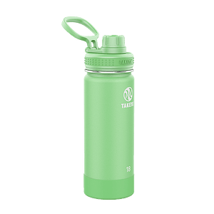 Botella TAKEYA 530ml. Antigoteo MINT