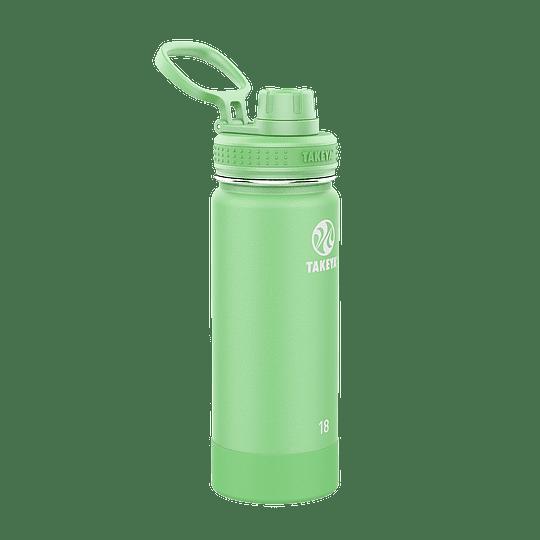 Botella TAKEYA 530ml. Antigoteo MINT - Image 1