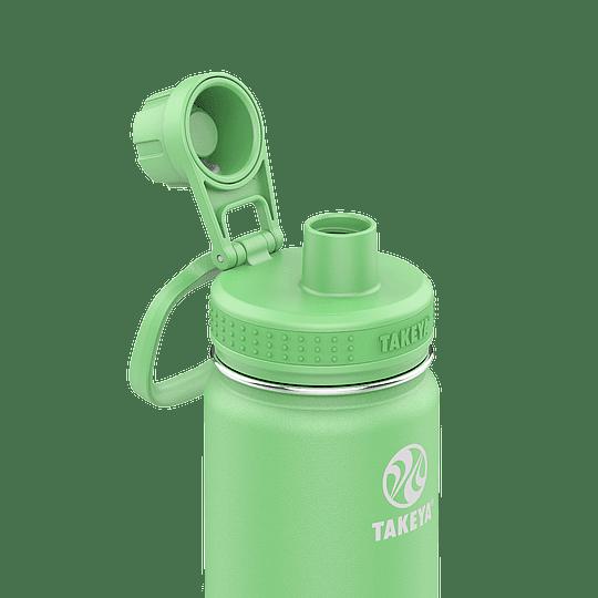Botella TAKEYA 530ml. Antigoteo MINT - Image 2