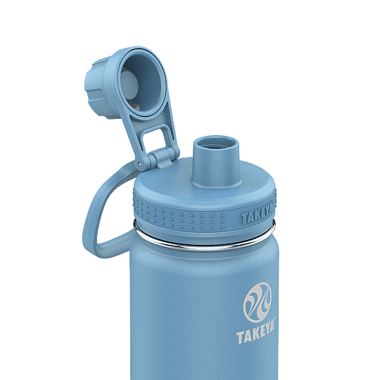 Botella TAKEYA 530ml. Antigoteo BLUESTONE - Image 2