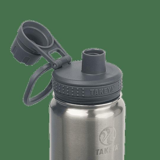 Botella TAKEYA 530ml. Antigoteo STEEL - Image 2