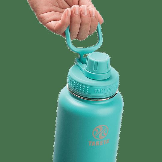 Botella TAKEYA 530ml. Antigoteo TEAL - Image 2