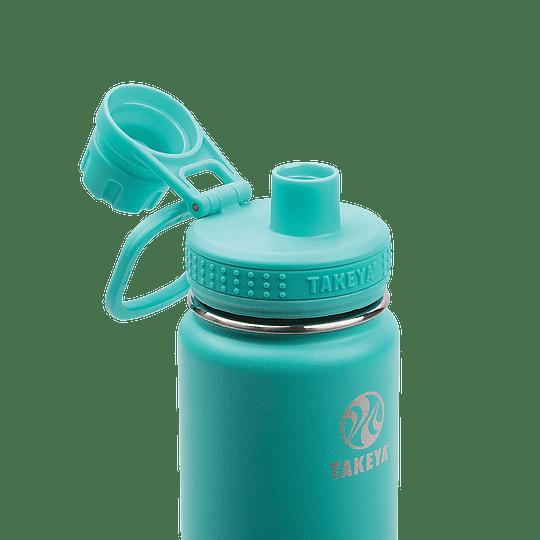 Botella TAKEYA 530ml. Antigoteo TEAL - Image 3