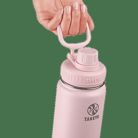 Botella TAKEYA 530ml. Antigoteo BLUSH - Image 2