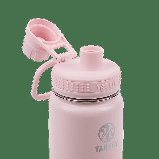 Botella TAKEYA 530ml. Antigoteo BLUSH - Image 3
