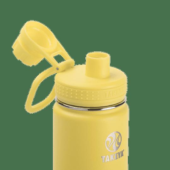 Botella TAKEYA 530ml. Antigoteo CANARY - Image 3