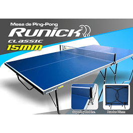 MESA PING PONG RUNICK CLASICA 15MM